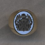 #5 with Bicolor Agate for Bague