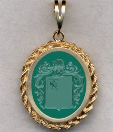 #87 with Green Onyx for Eastman