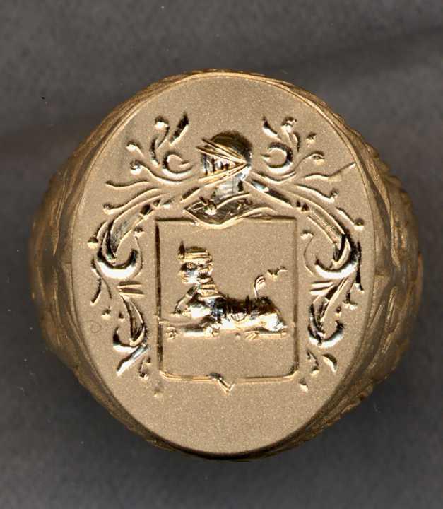 Heraldic Ring Charge