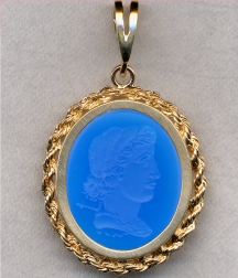 Mythological Pendant by Heraldica Imports